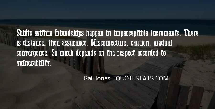 No Distance Friendship Quotes #309841