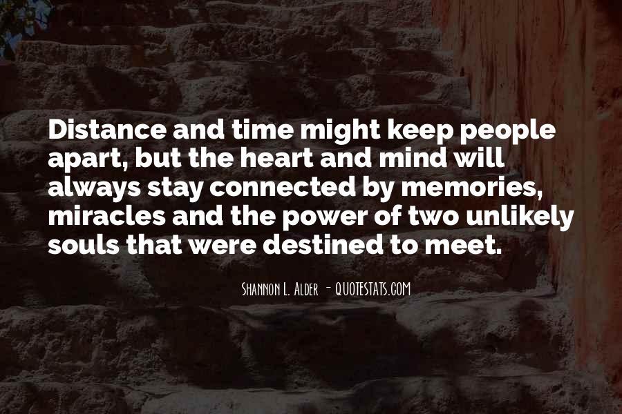 No Distance Friendship Quotes #409469