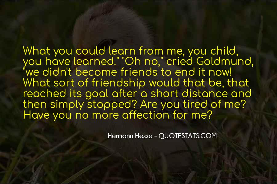 No Distance Friendship Quotes #956796