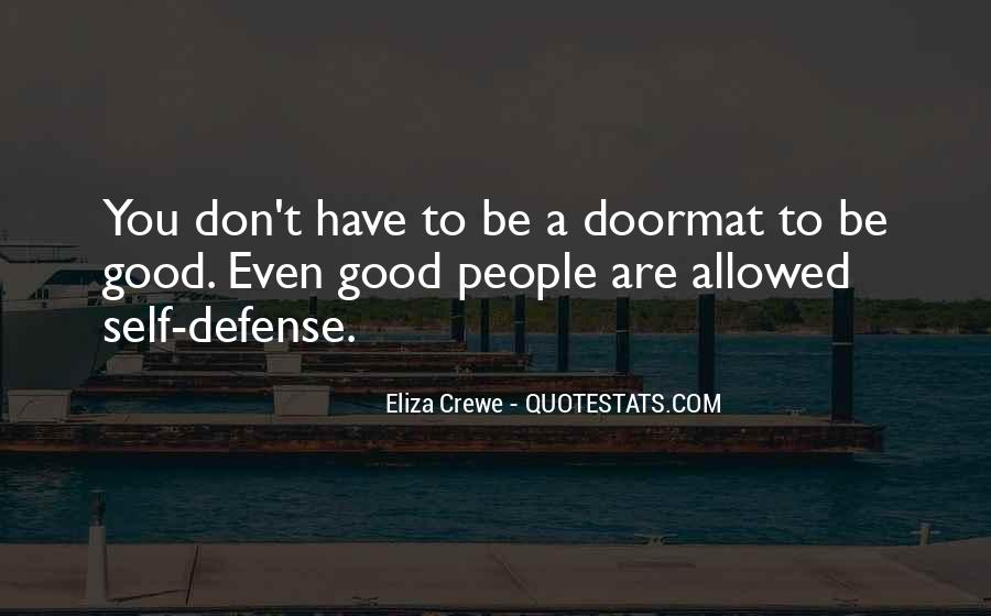 No Doormat Quotes #299869