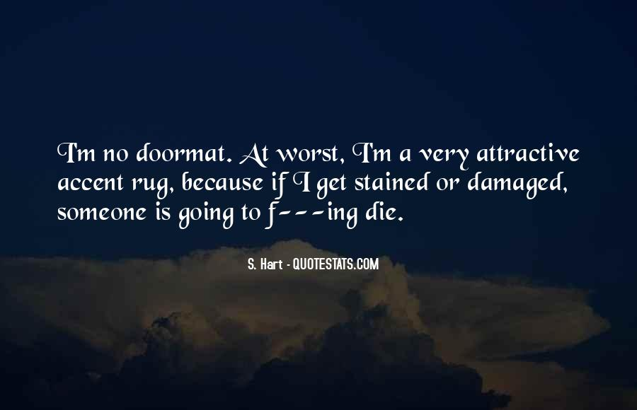 No Doormat Quotes #789413