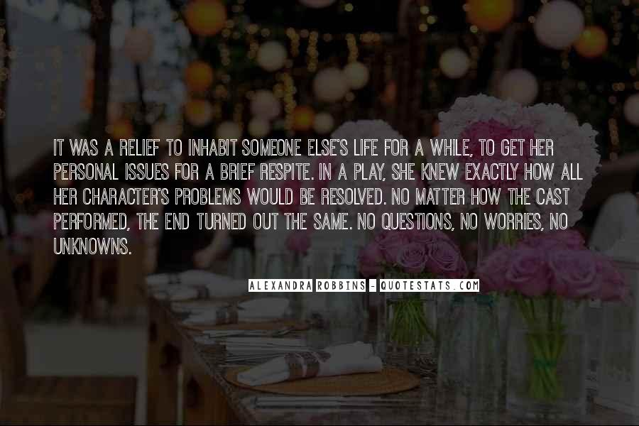 No Drama In Life Quotes #1320829