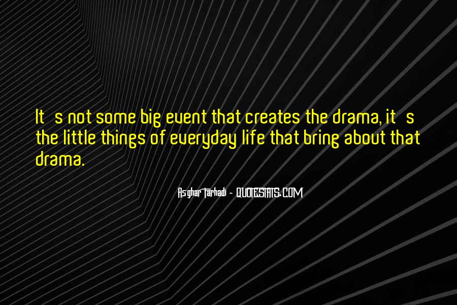 No Drama In Life Quotes #137100