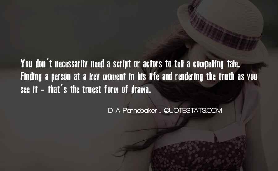 No Drama In Life Quotes #187173