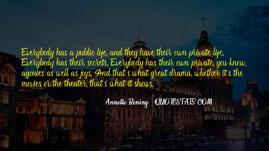 No Drama In Life Quotes #28716
