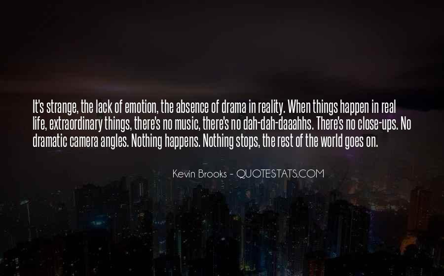 No Drama In Life Quotes #340737