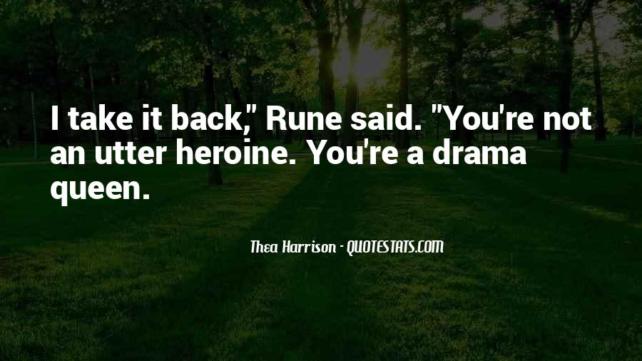 Top 36 No Drama Queen Quotes: Famous Quotes & Sayings About ...