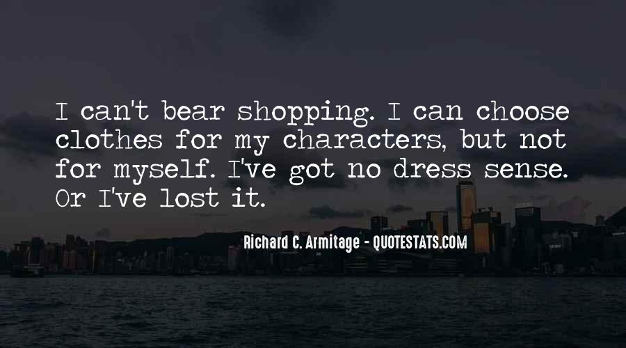 No Dress Sense Quotes #1283257