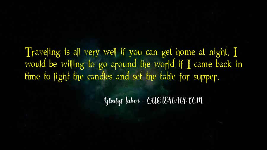 Quotes About Candles Light #1572207