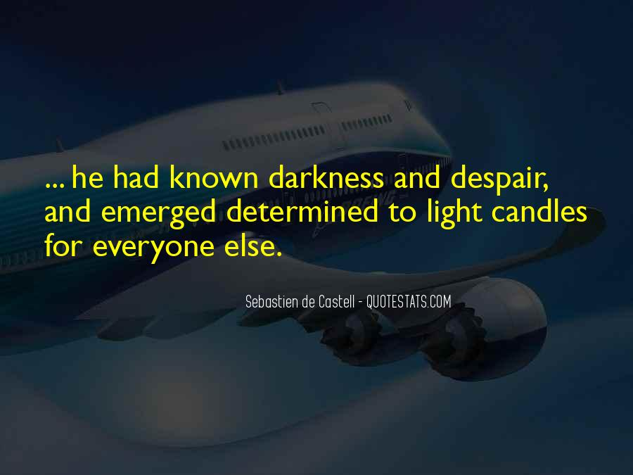 Quotes About Candles Light #1674069