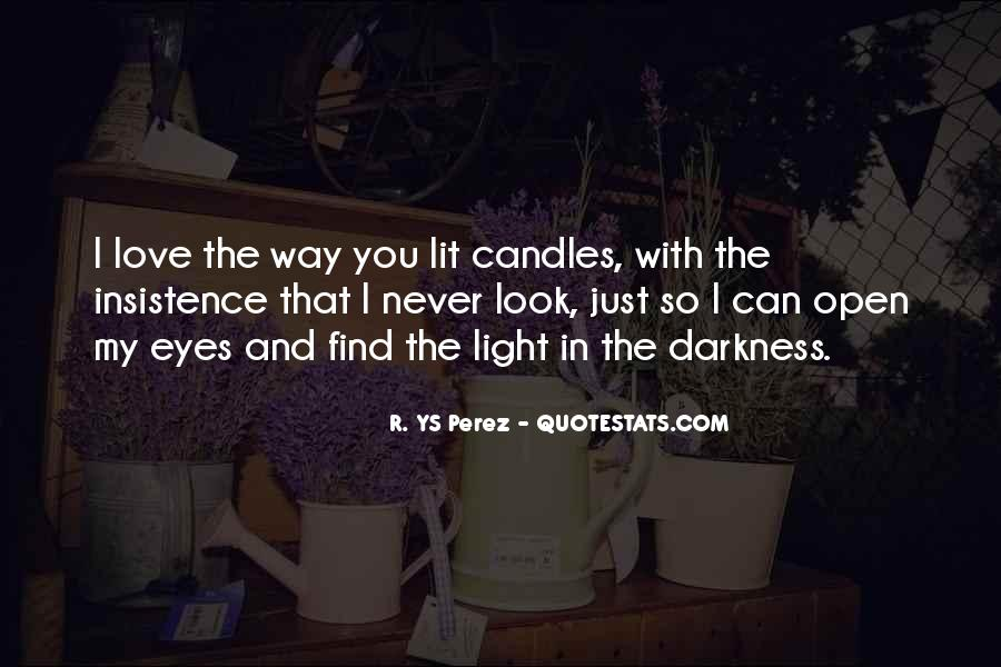 Quotes About Candles Light #1731216