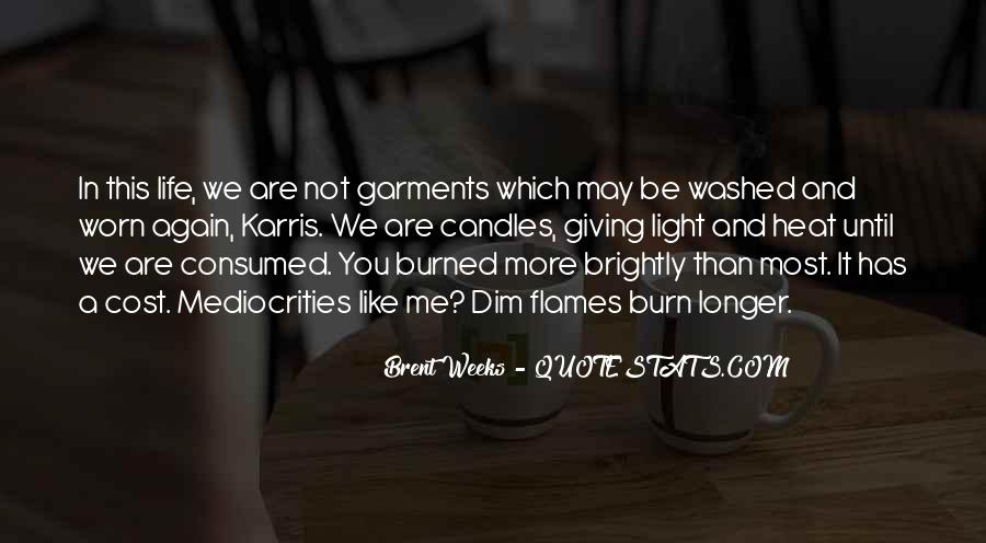 Quotes About Candles Light #1754592