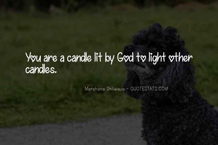 Quotes About Candles Light #410550