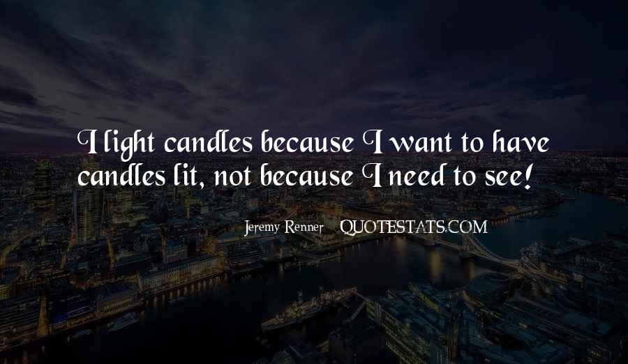 Quotes About Candles Light #617128