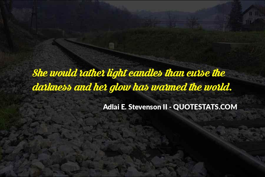 Quotes About Candles Light #634063
