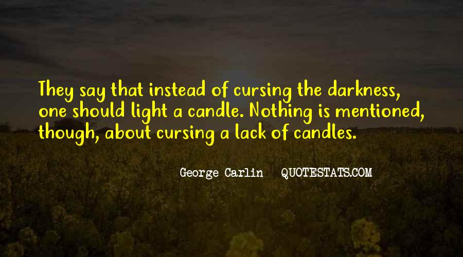 Quotes About Candles Light #742285