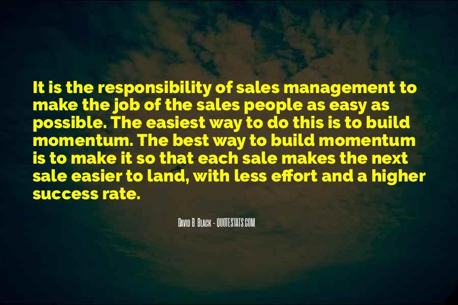No Easy Way To Success Quotes #161470