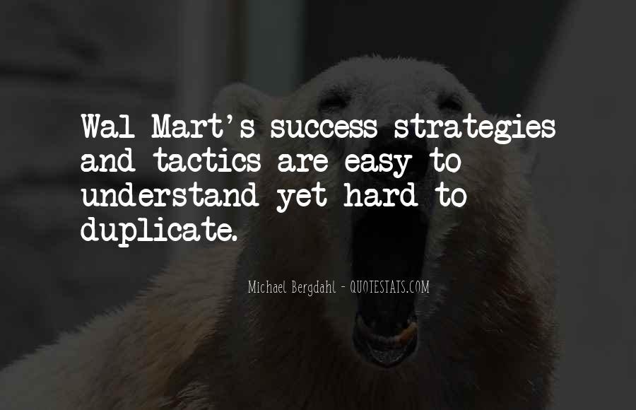 No Easy Way To Success Quotes #172199