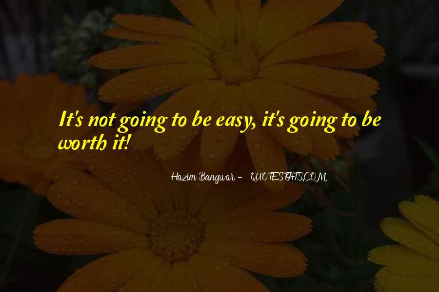 No Easy Way To Success Quotes #208366