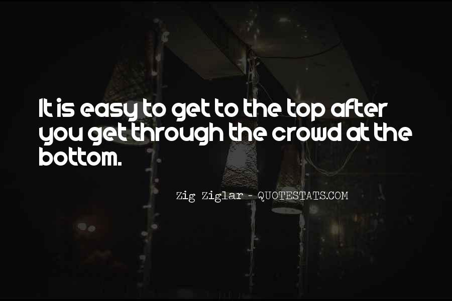 No Easy Way To Success Quotes #253451