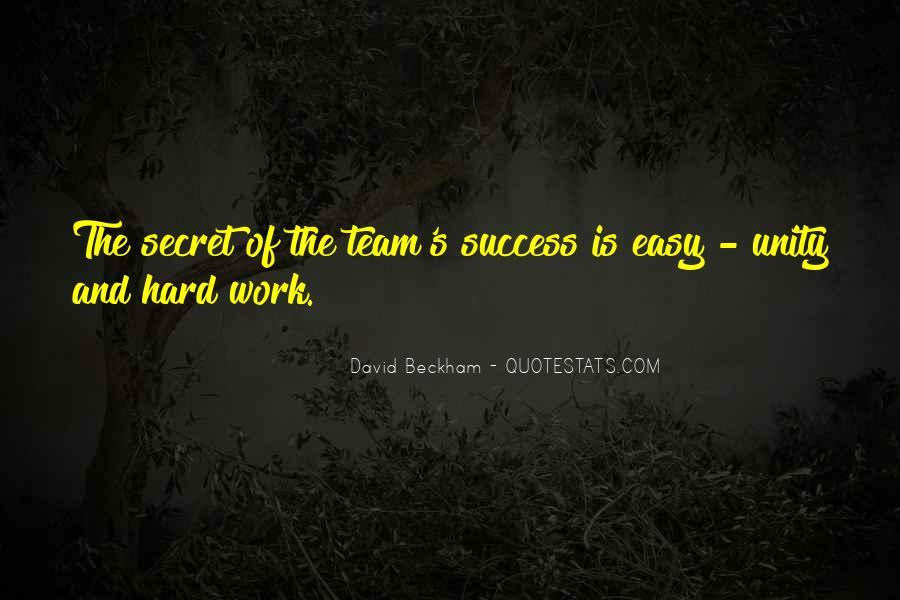 No Easy Way To Success Quotes #359056
