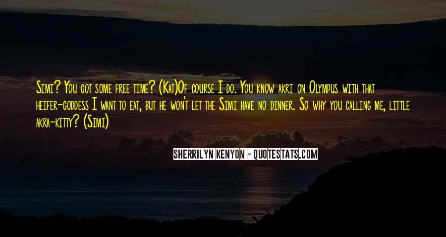 No Free Time Quotes #1592992