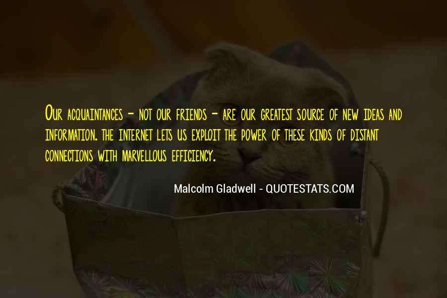 No Friends Only Acquaintances Quotes #303691