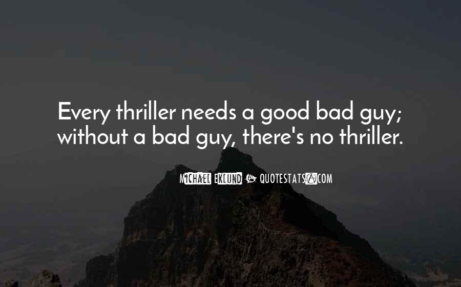 No Good Guy Quotes #1089577