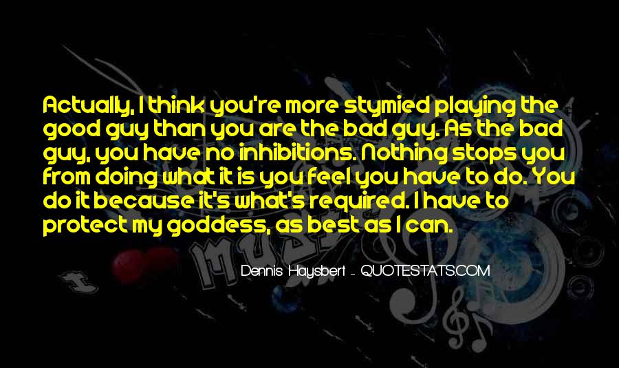 No Good Guy Quotes #149810