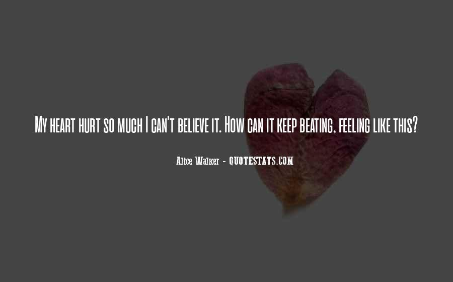 No Hurt Feeling Quotes #361681