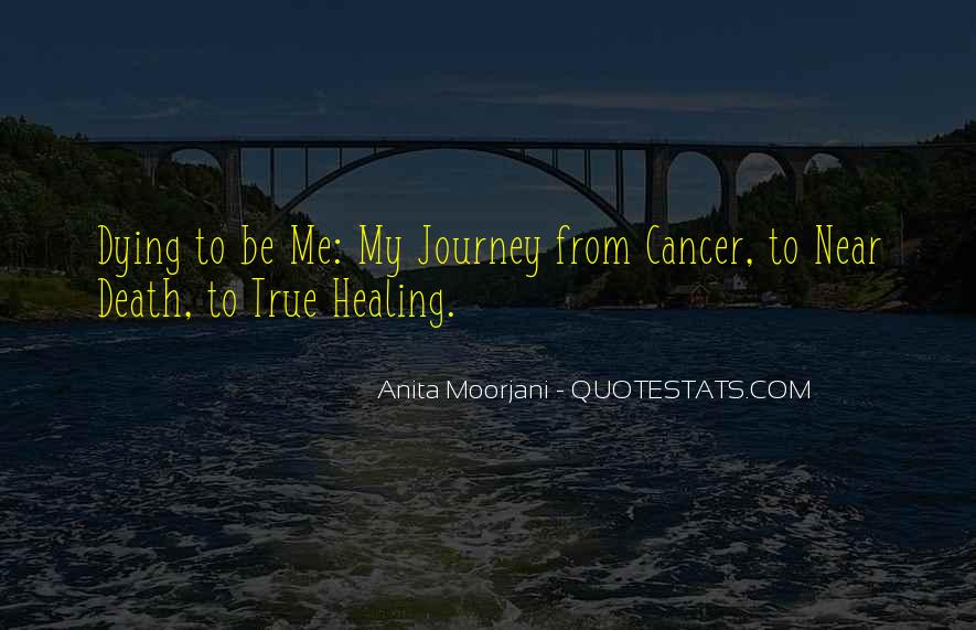 Quotes About Cancer Death #1009351