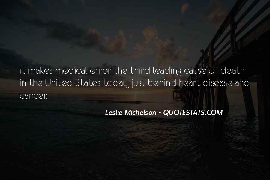 Quotes About Cancer Death #1029478