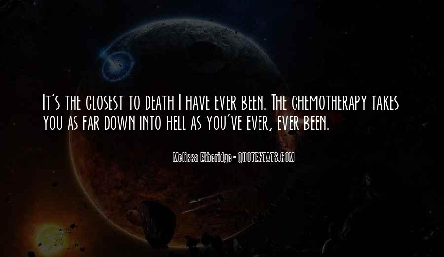 Quotes About Cancer Death #1037398