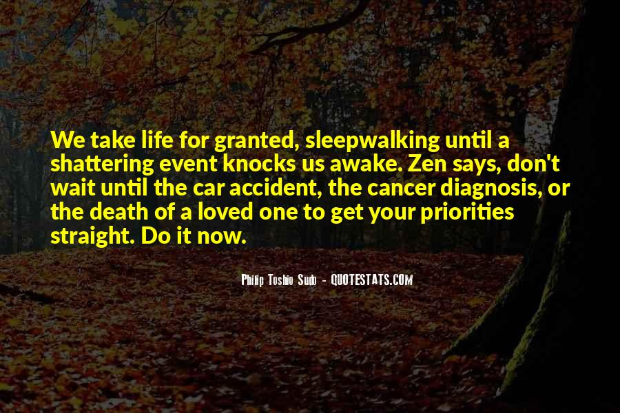 Quotes About Cancer Death #1042135