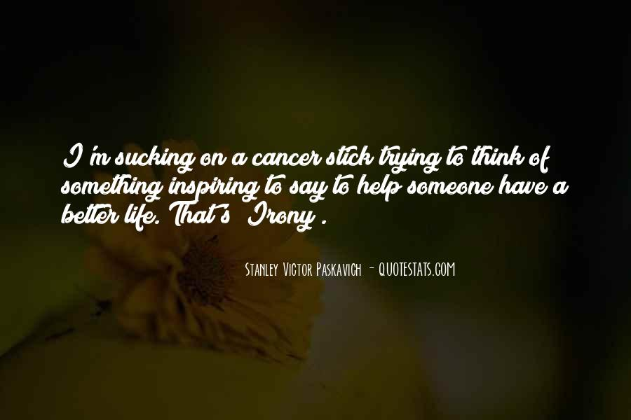 Quotes About Cancer Death #1099096