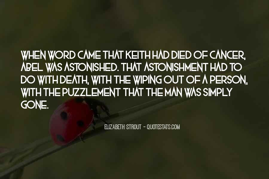 Quotes About Cancer Death #127342