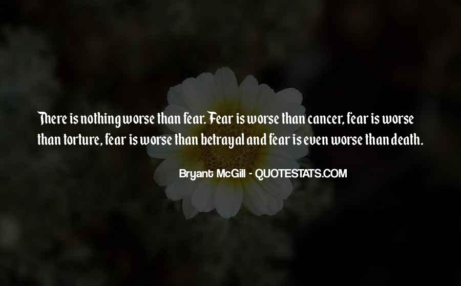 Quotes About Cancer Death #1277274