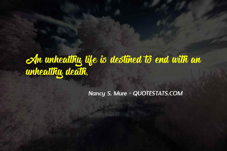 Quotes About Cancer Death #1307043