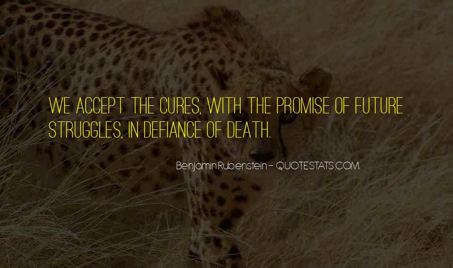 Quotes About Cancer Death #1417611