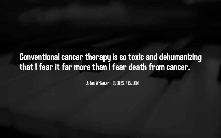 Quotes About Cancer Death #1594104