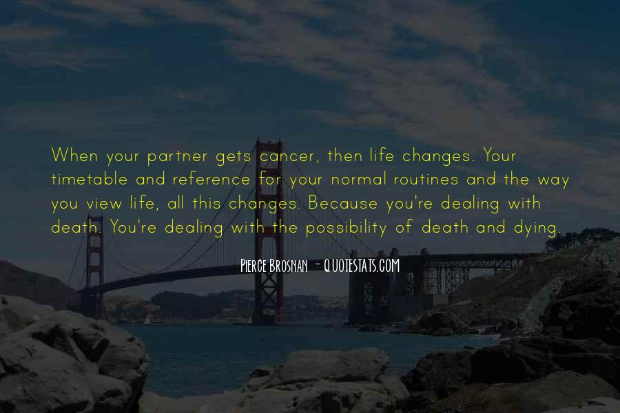 Quotes About Cancer Death #163605