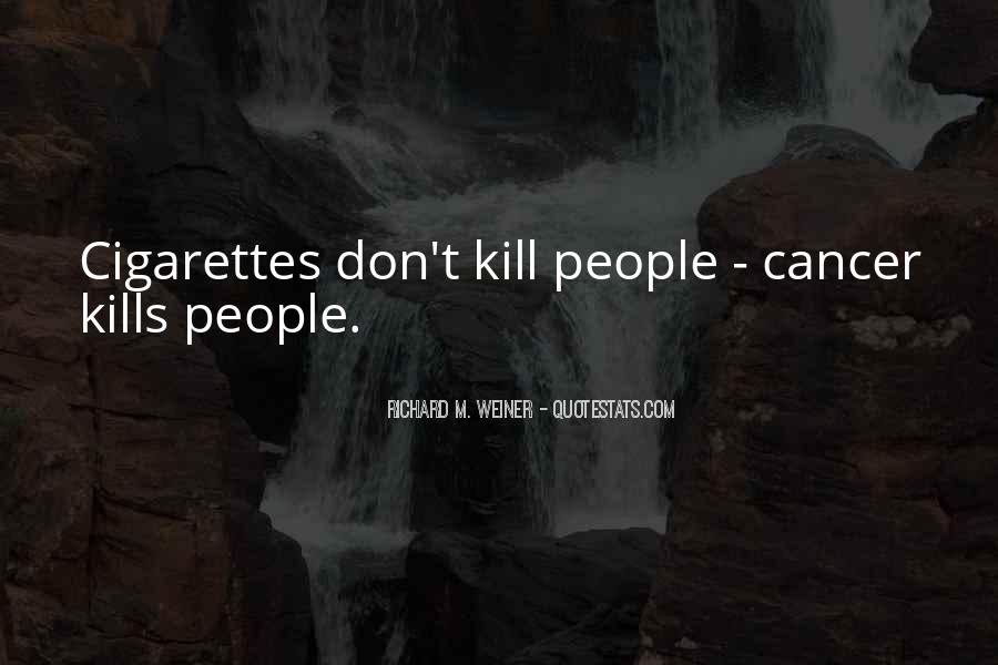 Quotes About Cancer Death #1650424