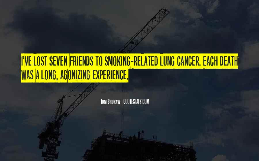 Quotes About Cancer Death #1774449