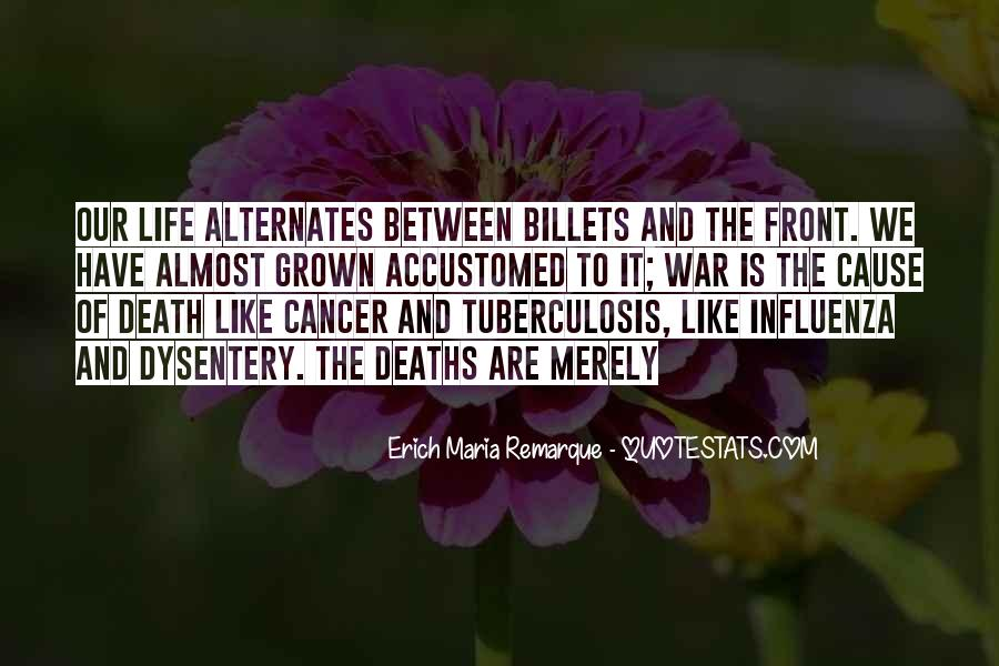 Quotes About Cancer Death #1791236