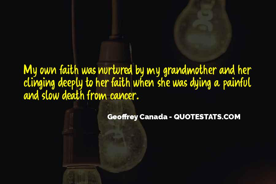 Quotes About Cancer Death #1819427