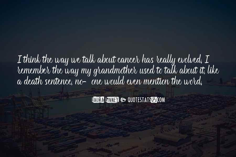 Quotes About Cancer Death #255862