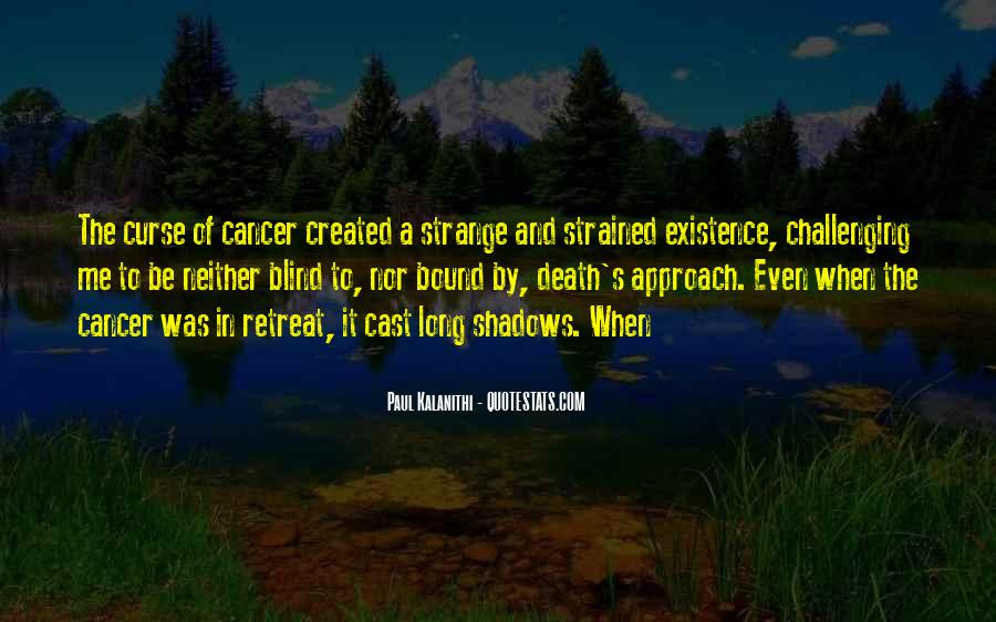 Quotes About Cancer Death #301883