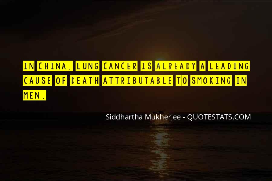 Quotes About Cancer Death #473991
