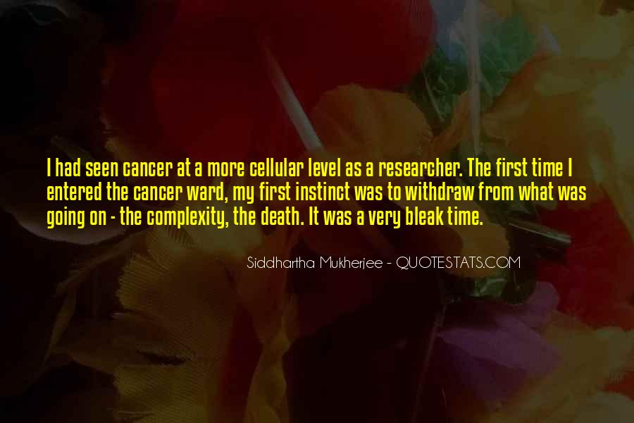 Quotes About Cancer Death #505915
