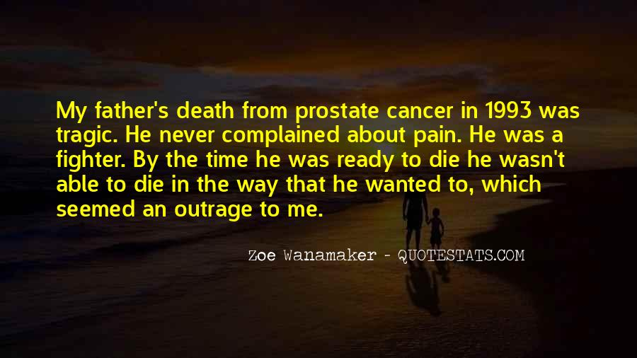 Quotes About Cancer Death #555109